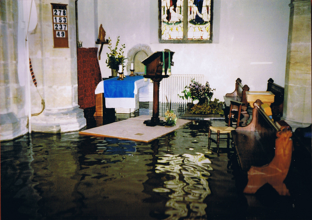 Water Damage Restoration For Flooded Churches